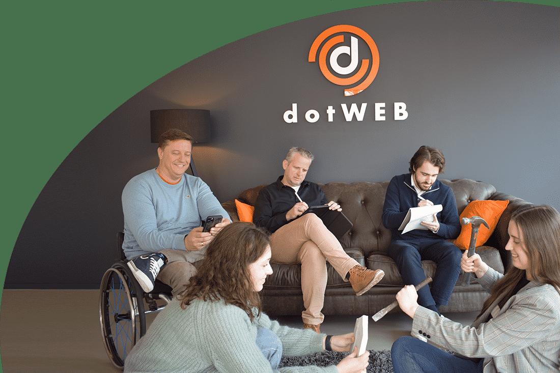 dotweb marketing contacteer ons